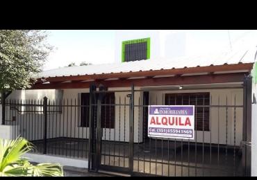Casa en alquiler Barrio Residencial Oeste 4 dor a metros Felix Paz
